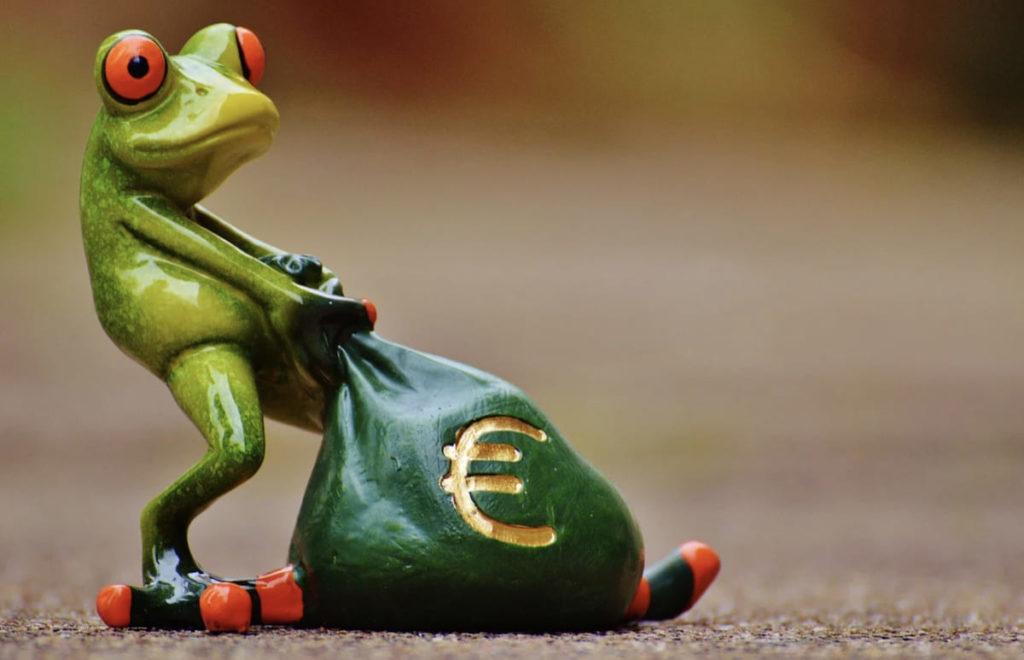 カエルお金